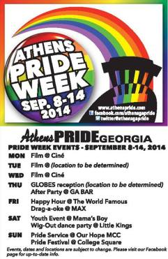 Athens PRIDE 2014 events